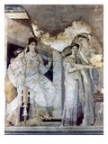 Roman Toilette Scene Giclee Print