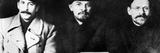 Stalin, Lenin & Trotsky Fotodruck