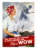 World War Ii Poster Giclee Print