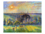 Pissarro: Eragny, 1895 Giclee Print by Camille Pissarro