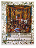 Deportation Of Jews Premium Giclee Print by Jean Fouquet