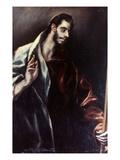 El Greco: St. Thomas Poster by  El Greco