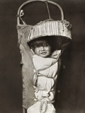 Apache Infant, C1903 Photographic Print by Edward S. Curtis