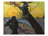 Van Gogh: Sower, 1888 Prints by Vincent van Gogh