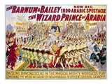 Circus Poster, 1914 Giclee Print