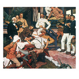 Yellow Fever, Cuba, C1900 Giclee Print by Dean Cornwell
