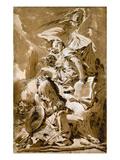 Tiepolo: Saint Jerome Print by Giovanni Battista Tiepolo