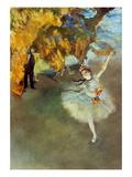 Degas: Star, 1876-77 Giclee Print by Edgar Degas