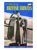 British Airways, 1938 Giclee Print
