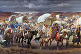 The Trail Of Tears, 1838 Giclee Print by Robert Lindneux