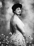 Nude And Flowers, 1903 Photographic Print by  Schlier