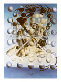 Galatea Of The Heavens Giclee Print by Salvador Dali