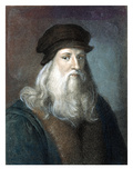 Leonardo Da Vinci Giclee Print by Arpad Szenes