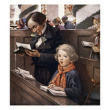 A Christmas Carol Giclee Print by Jessie Willcox-Smith