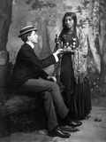 Palm-Reading, C1910 Photographic Print