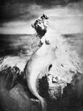 Nude As Mermaid, 1898 Photographic Print by Gulick