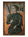 Joan Of Arc (C1412-1431) Prints