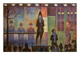 Seurat: La Parade Giclee Print by Georges Seurat