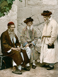 Jews In Jerusalem, C1900 Photographic Print