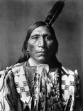 Sioux Man, C1907 Photographic Print by Edward S. Curtis