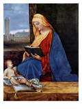 Madonna Reading Prints by  Giorgione
