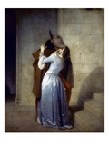 Hayez: The Kiss Prints by Francesco Hayez