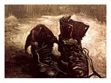 Van Gogh: Boots, 1886 Giclee Print by Vincent van Gogh