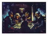 Van Gogh: Potato-Eaters Posters by Vincent van Gogh