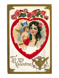 Valentine's Day Card Posters