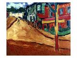Vlaminck: Street, 1906 Giclee Print by Maurice de Vlaminick