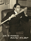 Joe Dimaggio (1914-1999) Photographic Print