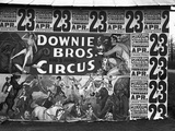 Circus Advertisement, 1936 Photographic Print by Walker Evans