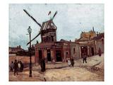 Van Gogh: La Moulin, 1886 Prints by Vincent van Gogh
