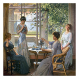 Vonnoh: Mrs. Wilson Giclee Print by Robert William Vonnoh