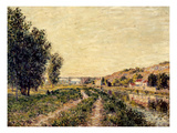Sisley: Landscape, 1884 Posters by Alfred Sisley