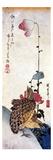 Hiroshige: Poppies Premium Giclee Print by Ando Hiroshige