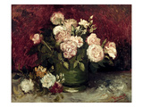 Van Gogh: Roses, 1886 Prints by Vincent van Gogh