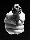 Revolver Aimed At You Photographic Print