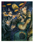 Orozco: Churchgoers, 1926 Prints by Jose Clemente Orozco