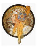 Mucha: Poster, C1900 Giclee Print by Alphonse Mucha