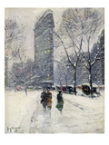 New York: Flatiron, 1919 Giclee Print by Guy Wiggins