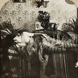 Sleeping Woman, C1900 Photographic Print