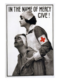 Red Cross Poster, 1917 Giclee Print by Albert Herter