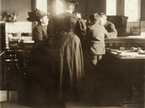 Juvenile Court, 1910 Photographic Print by Lewis Wickes Hine
