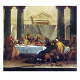 G.B. Tiepolo: Last Supper Giclee Print by Giovanni Battista Tiepolo