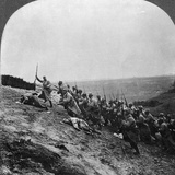 WWI: French Attack Photographic Print