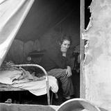 Migrant Worker, 1936 Fotografisk tryk af Dorothea Lange