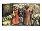 Planetary Systems Giclee Print by  Boethius