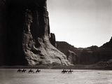 Navajos: Canyon De Chelly, 1904 Photographic Print by Edward S. Curtis