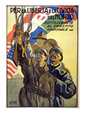 World War I: Italian Poster Giclee Print by Marcello Dudovich